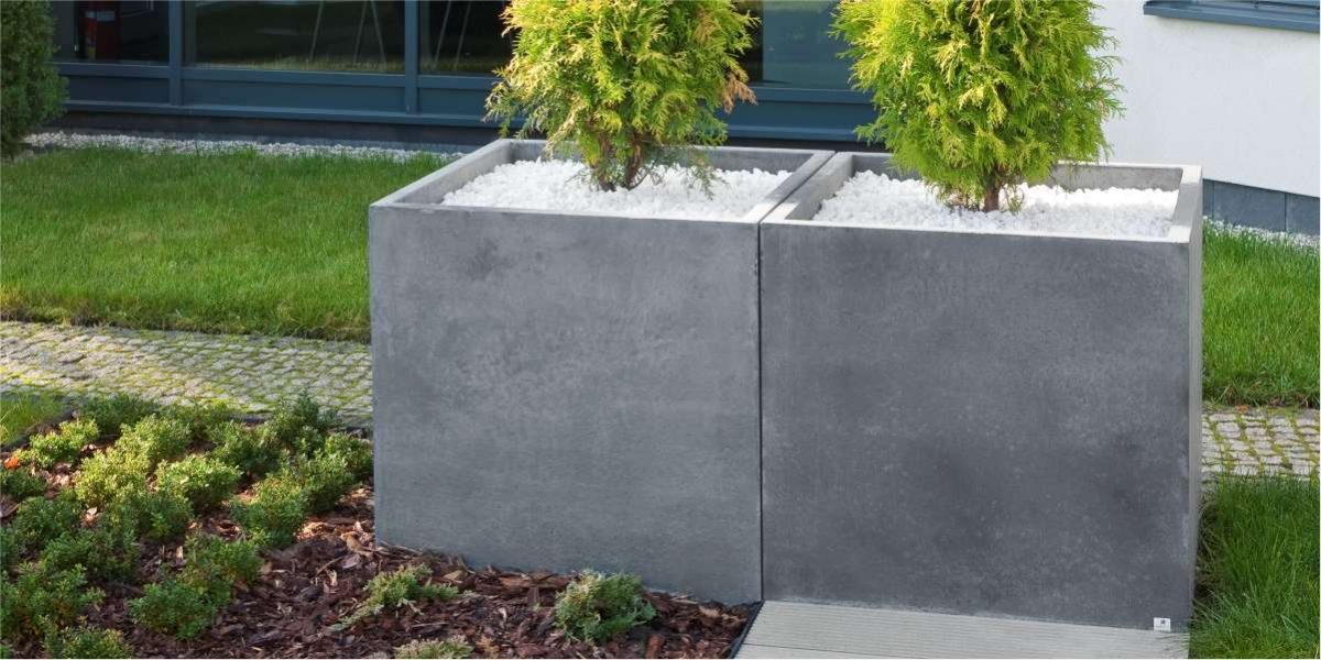 Big Special planter steel natural