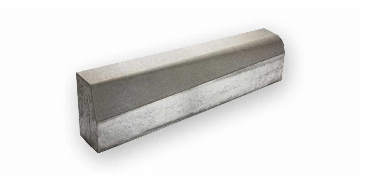 Skosený obrubník 15x22-30x100